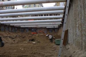 Vorausgegangenes Baugrundgutachten Alte Wallgasse Köln