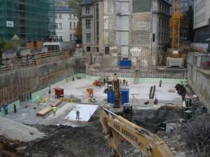 Vorausgegangene Untersuchung auf Altlasten bei Gebrüder Esch in Frankfurt