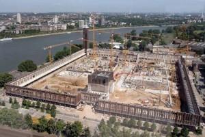 Vorausgegangene Untersuchung auf Altlasten bei Rheinhallen RTL in Köln