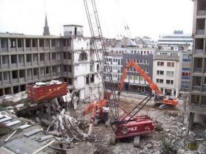 Vorausgegangene Untersuchung auf Altlasten bei Westgate in Köln