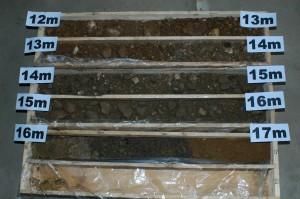 Zur Erstellung eines Baugrundgutachten wird der genaue Bodenaufbau ermittelt