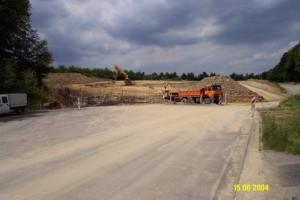 Vorangegangenes Baugrundgutachten bei Feuerwehrhaus in Neuwied