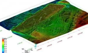 Digitalen Gelände- und Grundwassermodellierung mittels hochspezialisierter Software